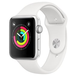 Apple Watch Series 3 38mm Aluminum Case with Sport Band Silver