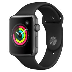 Apple Watch Series 3 42mm Aluminum Case with Sport Band Space Gray